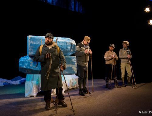 Fotografování divadelního představení Dobytí severního pólu