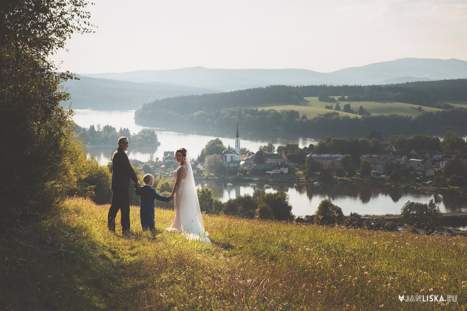 svatební fotograf Lipno Frymburk